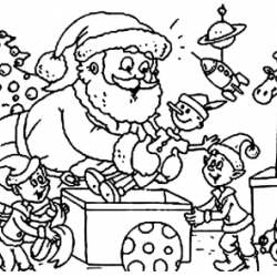 Christmas Colouring Competition 2016