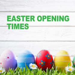 Our Easter Opening times 2017