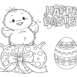 Children's Easter Colouring Competition 2018