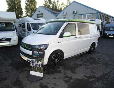 Volkswagen T6 Welsh Coast Campers (2016)